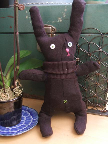 glove bunny softie