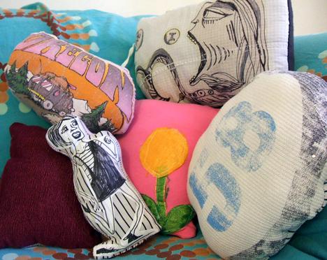 clothes pillows