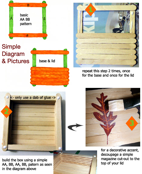 stick box how to