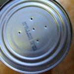 Tap 5 or 6 tiny holes into the bottom of the can.