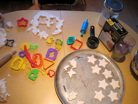 fun with salt dough