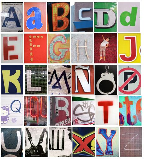 photo alphabet