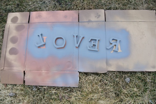 easy wood lettering. the l-o-v-e-r project